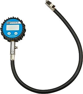Cartrend 50238 Digital, belyst professionell däcktrycksmätare upp till 10 bar