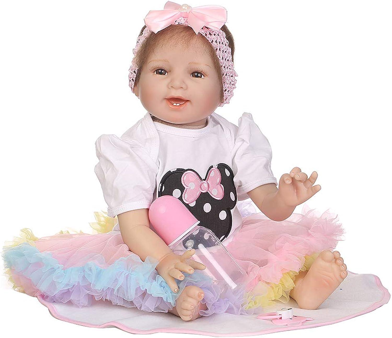 edición limitada 55cm 55cm 55cm bonito Artificial Reborn juguete Simulación emuliert muñecas Baby Regalos para recién nacidos Cumpleaños Regalos juguetes  hasta un 60% de descuento