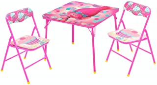 Universal DreamWorks Trolls Table and Chair Set (3 Piece)