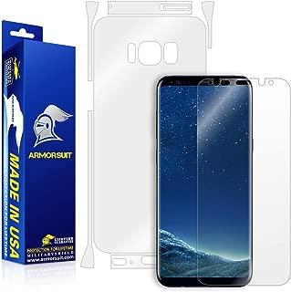 ArmorSuit MilitaryShield Full Body Skin Film + Screen Protector for Samsung Galaxy S8 - Anti-Bubble HD Clear Film