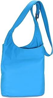 Belli Cross Bag Classic italienische Umhängetasche Damen Ledertasche Handtasche Cross Over Bag - 24x28x8 cm (B x H x T)