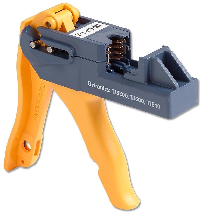 Fluke Networks JR-ORT-2 JackRapid Punch Down Tool for Ortronics TJ5E00, TJ600, TJ610