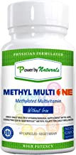 PbyN - Dr Formulated - Methyl Multi One Without Iron - Once Daily MTHFR Methylation Protect Methylated Multivitamin with ADK, CoQ10, Active Vitamin B12, Quatrefolic Methylfolate (Men and Women) - 60ct