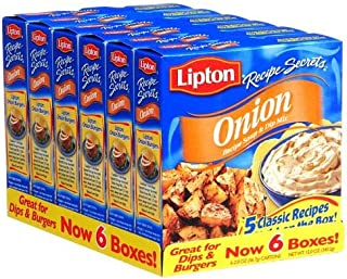 Lipton Onion Recipe Soup & Dip Mix - 2 oz. - 6 ct.