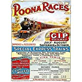 Wee Blue Coo Travel Poona Races India Railway Bombay Mumbai