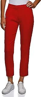 Women's Cropped Linen Trousers