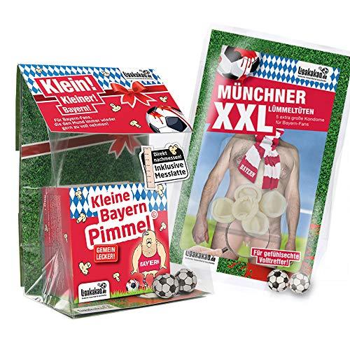 Bayern München Boxershorts ist jetzt KLEINE PIMMEL Set 1: KLEINE Schadenfreude by Ligakakao.de rot-weiß männer Shorts Unterhosen