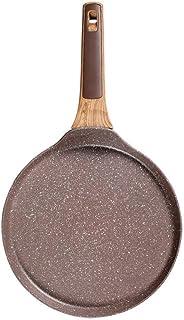 Non Stick Stekpanna Lager Tårta Pannkaka Crepe Maker Flat Pan Griddle Frukost Omelett Bakpannor