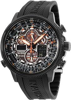 ساعة نافيهوك ايكودرايف ايه-تي بسوار مطاطي للرجال من سيتيزن، [JY8035-04E]