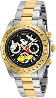 Invicta Unisex-Adult Quartz Watch, Chronograph Display and Stainless Steel Strap 25194