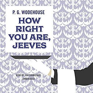 How Right You Are, Jeeves audiobook cover art