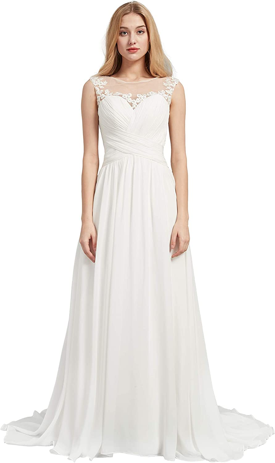 Special Brida Lowest price challenge Sleeveless Chiffon Sweetheart with Wedding Sales results No. 1 Dress B