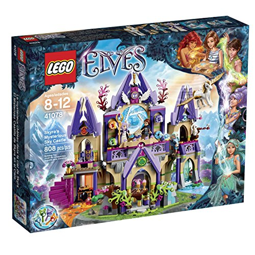 LEGO Elves 41078 Skyra's Mysterious Sky Castle Building Kit by LEGO