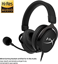 HyperX Cloud Mix Wired Gaming Headset + Bluetooth Option - Game and Go - Detachable Microphone - Signature Comfort - Lightweight - Multi Platform Compatible (HX-HSCAM-GM)