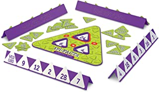 Learning Resources Tri-Facta Multiplication & Division Game, 2-4 Players, 104Piece Set, Ages 8+