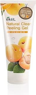 Ekel Natural Clean Peeling Gel Apricot Essence Facial Cleanser