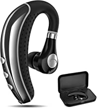 Bluetooth Headset COMEXION V5.0 Bluetooth Earpiece with Mic and Mute Key Wireless Noise..