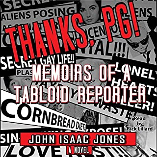 Thanks, PG!: Memoirs of a Tabloid Reporter cover art