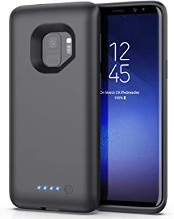 Battery Case for Samsung Galaxy S9,[6000mAh] Portable Charging Case External Battery Pack for Samsung Galaxy S9 Rechargeab...