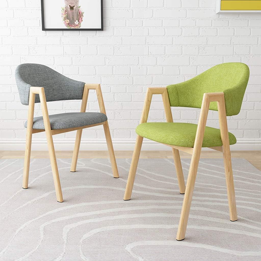 XXT Chaise de salle à manger, simple chaise de bureau, dossier créatif, chaise de loisirs, chaise de salle à manger pour adulte durable (couleur : rouge) Gris Foncé