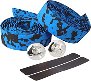 Limiwulw Bike Handlebar Tapes EVA Bicycle Bar Tape with 2 Bar Plugs for Cycling Handle Wraps for Touring Cycling and Road Racing -2 Rolls