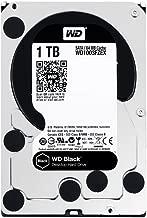 WD 1TB Black Performance Internal Hard Drive 7200 rpm SATA III 3.5