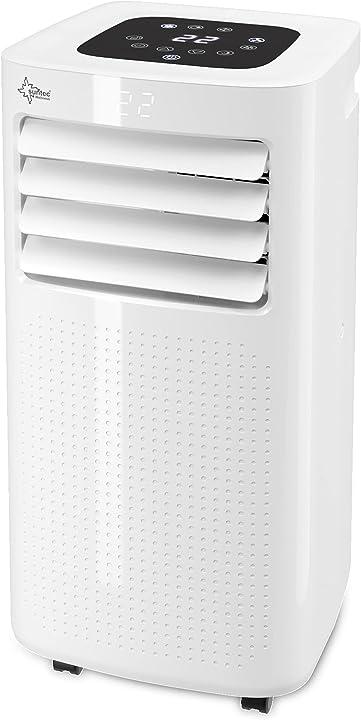 Condizionatore mobile coolfixx 2.6 eco r290 | per locali fino a 34 mq | tubo di scarico suntec B0861M4ZSN