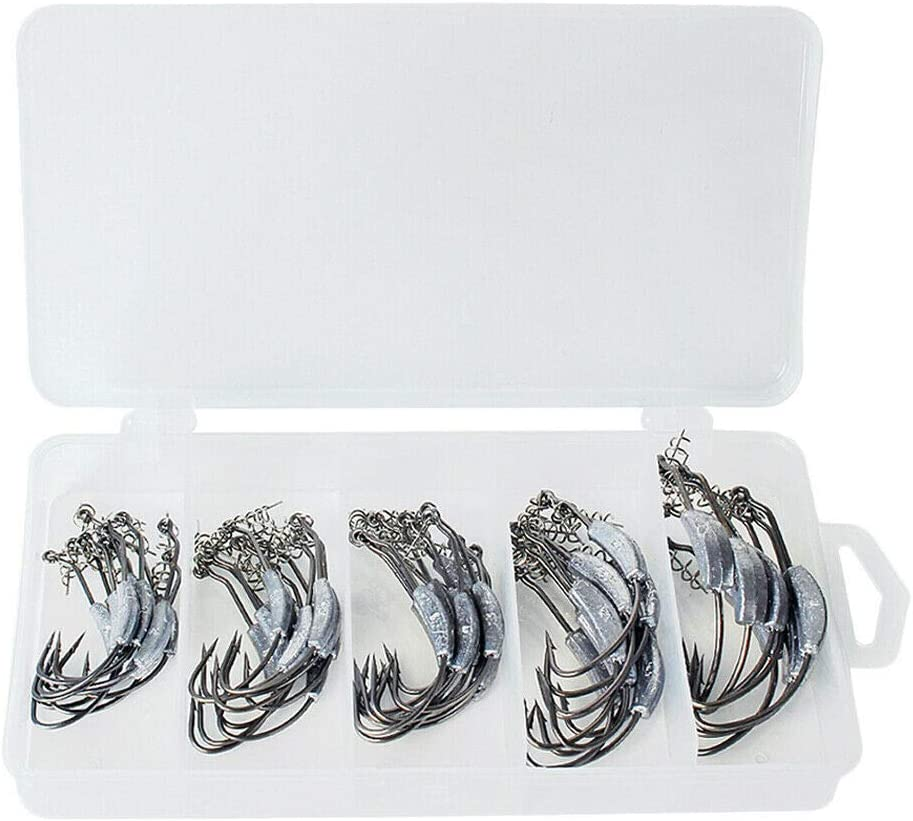 Fishing Equipment Cheap bargain 1 Box High Carbon NEW before selling wi Steel Barbed Hook