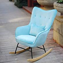 Lazy Getaway Rocking Chair Home Single Sofa Rocking Chair, Extended Backrest Terrace Leisure Armchair,New Stylish Rocking ...