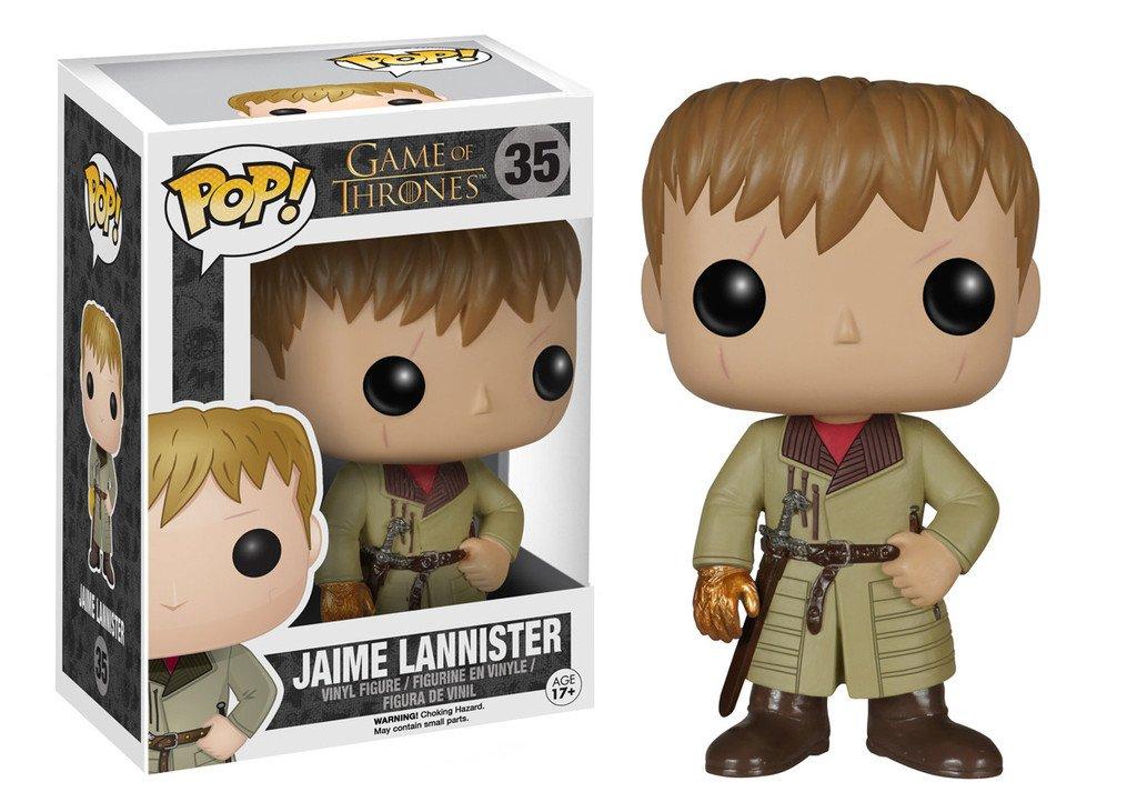 Funko - Estatuilla de Juego de Tronos - Jaime Lannister Mano de Oro Pop 10cm - 0849803050696: Amazon.es: Juguetes y juegos