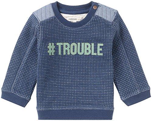 Noppies Noppies Baby-Jungen B Sweater Howard Sweatshirt, Mid Bleu, 80