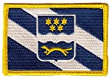 Flaggen Aufnäher Patch Kroatien - Brod Posavina Fahne Flagge