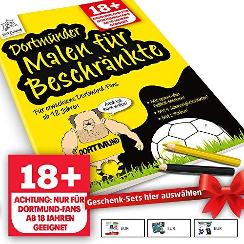 Dortmund 09 Fanartikel ist jetzt Dortmunder Malbuch für Beschränkte by Ligakakao.de
