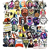 50Pcs Stranger Things Decal Stickers for Laptop and Water Bottles,Waterproof Durable Trendy Vinyl Laptop Decal Stickers Pack for Teens, Water Bottles, Computer, Travel Case (Stranger Things)