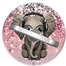 Baby Elephant Phone Ring Stand Holder Grip Mounts, Universal 360 Rotation Smartphone Finger Ring Grip Stand with for iPhone Samsung LG Moto iPad Case-SunbirdsEast