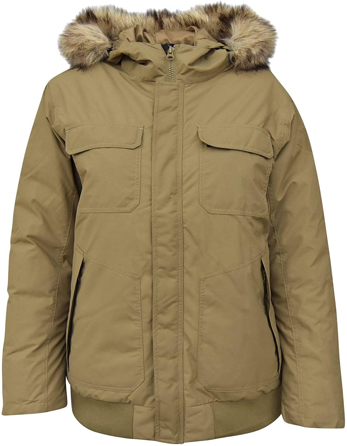 Snow Country Outerwear Mens Wayland Insulated Bomber Jacket Coat Down Alternative