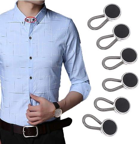 Prolongador de botón elástico para mujeres embarazadas, pantalones vaqueros de hombre. (19mm)