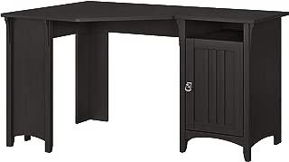 Bush Furniture Salinas 55W Corner Desk with Storage in Vintage Black