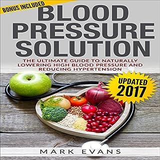Blood Pressure Solution audiobook cover art