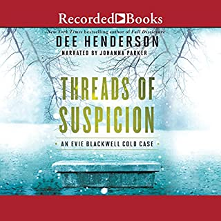 Threads of Suspicion                   By:                                                                                                                                 Dee Henderson                               Narrated by:                                                                                                                                 Johanna Parker                      Length: 12 hrs and 26 mins     536 ratings     Overall 4.6