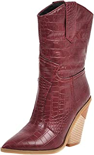 Best veera velvet combat boot Reviews