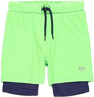 Bóboli, Bermuda de Deporte Niño de Punto, Tallas de 4 a 16 Años   Pantalones Deportivos, 100% Algodón   Bermudas niños   Bermudas Deportivas   Estampados   Verde- Azul