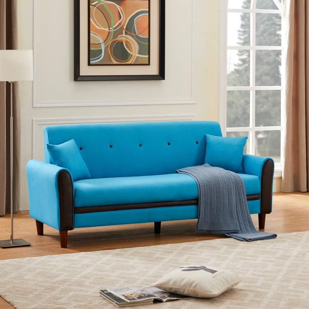 San Diego Mall Pumpumly 2103 Special Campaign 3P Sofa Blue