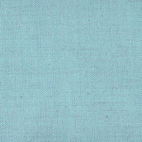 MIRABLAU DESIGN Stoffverkauf Bio Baumwolle Popeline garngefärbt türkis (6-028M), 0,5m
