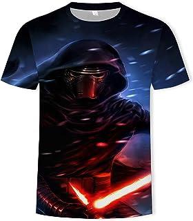 XIAOBUDIAN Star Wars - Camiseta de manga corta para hombre con impresión 3D