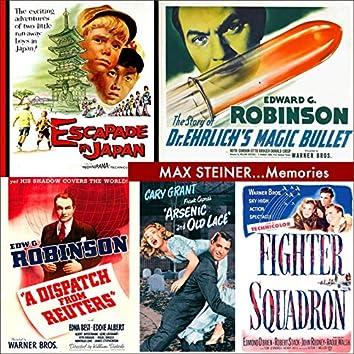 MAX STEINER... Memories (Original Movie Soundtracks)