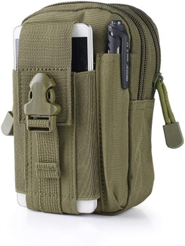 Cell Phone Holsters - Tactical Molle Pouch EDC/EMT Gear Tool Gadget Belt Outdoor Waist Bag Pocket Organizer for iPhone Samsung Smartphones from (Color : E)