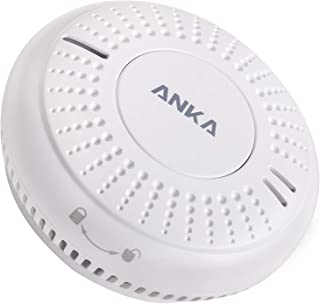 ANKA Smoke Alarm,10-Year Battery Smoke Detector,with LED Indicator&Test/Silence Button,Conforms to EN 14604 Standards,for ...