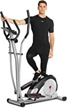FUNMILY Elliptical Machine for Home Use, Cross Trainer with LCD Monitor & 8 Level Magnetic Resistance, LCD Monitor and Pul...