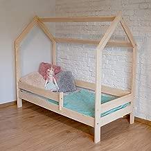 LEA Funktionsbett Kinderbett Einzellbet Massivholz Schublade Lattenrost Rausfallschutz 160x80, Blau